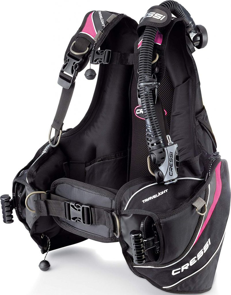CressiTravelight BCD - Lady Pink