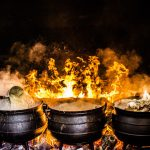Items for outdoor cooking