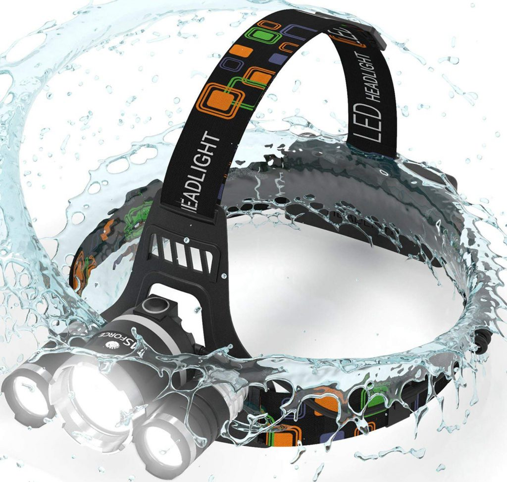 Newsest Version Of Brightest and Best LED HeadLamp 6000 Lumen