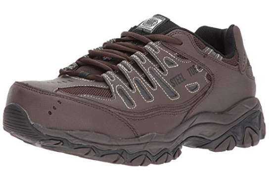 Skechers for Work 77055 Cankton Athletic Steel Toe Work Sneaker _ I