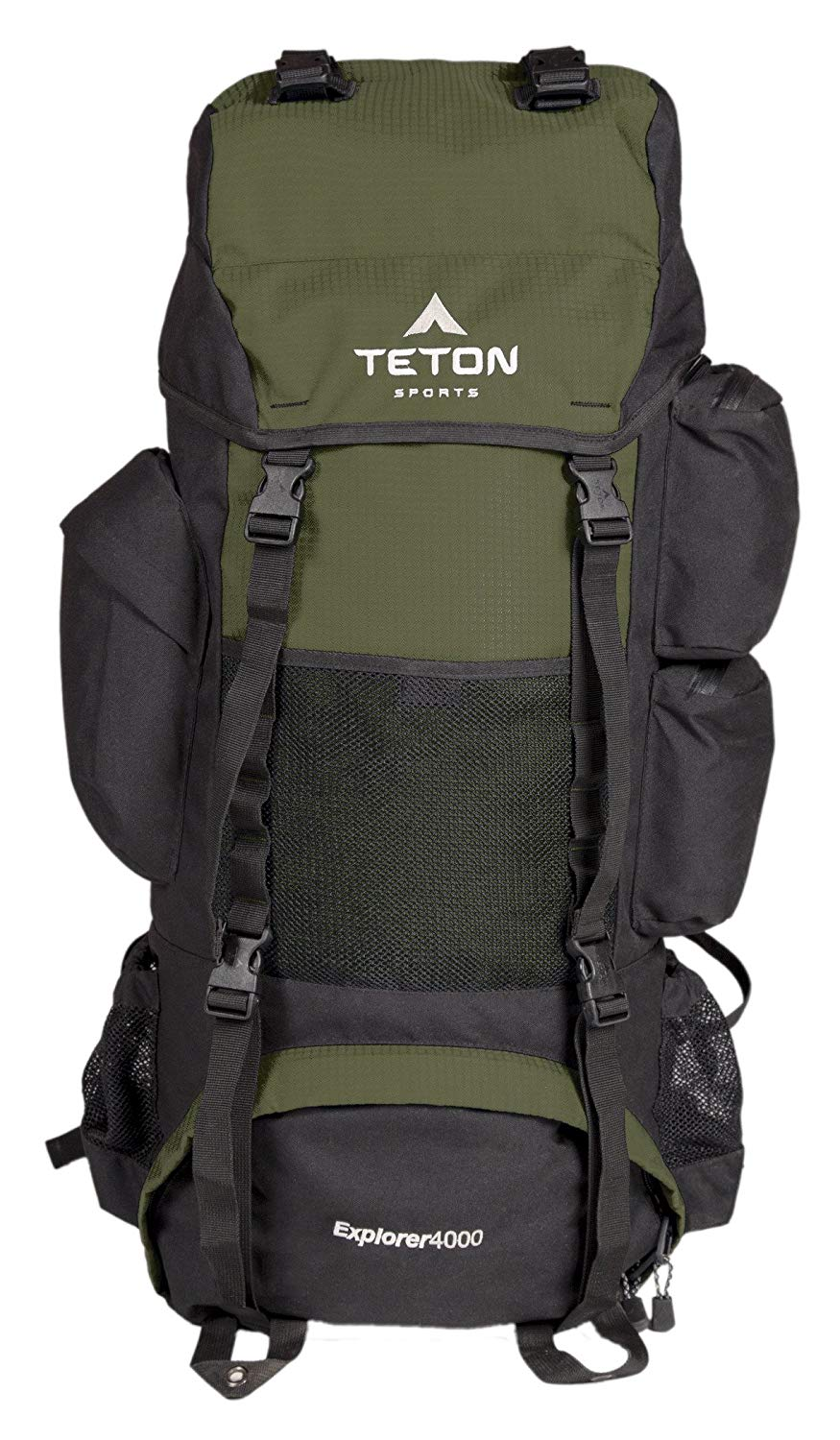 Teton Sports Explorer 4000 Internal Frame Backpack – Not Your Basic Backpack; High-Performance Backpack for Backpacking, Hiking, Camping; Sewn-in Rain Cover