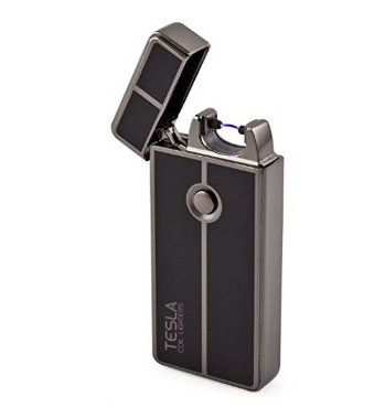 Tesla Coil Lighters™ USB Rechargeable Windproof Arc Lighter (1. Gun