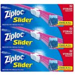 Ziploc Gallon Slider Storage Bags, 96 Count_ Health & Personal Care