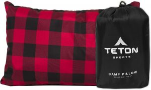 TETON Sports Camp Pillow; Great for Travel, Camping and Backpacking; Washable,